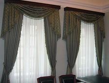 Портьеры всех размеров, фасонов и цветов купить в Казани