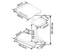 Стол для ноутбука «LT-001/White» купит в Казани