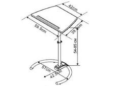 Стол для ноутбука «LT-003/Cherry» купит в Казани