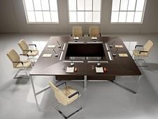 Мебель для конференц-залов и переговорных комнат в Казани.